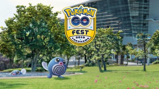 Pokemon GO : ptitard shiny, go fest yokohama