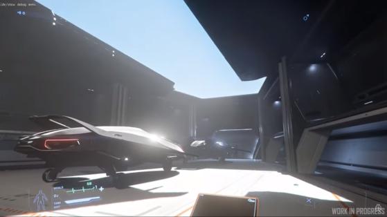 Hangar à vaisseaux - Star Citizen