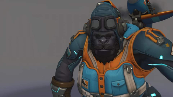 Overwatch : skin Winston London Spitfire