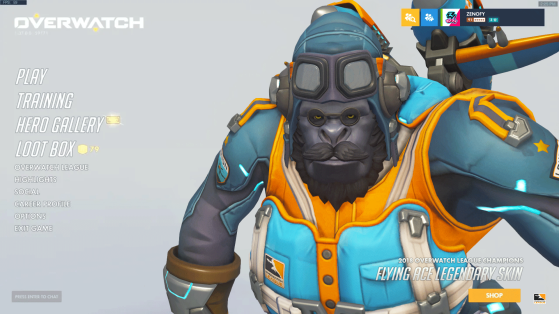 Screenshot issu de Reddit - Overwatch