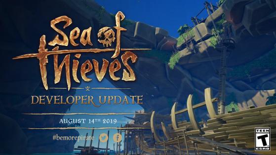 Sea of Thieves, developer update, dark relics, patch 2.0.6