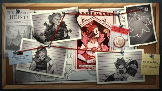 Heroes of the Storm : teasing event Blanchetête Scarlet Heist