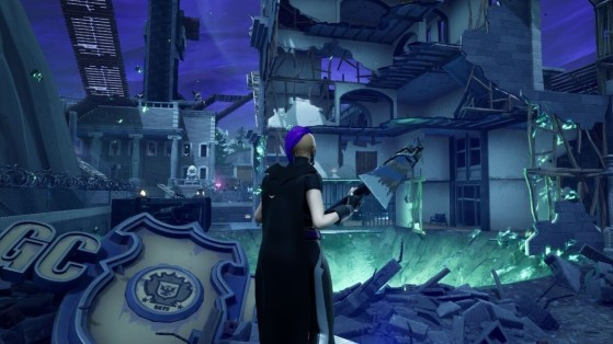 Fortnite : Gotham City nouvelle zone de faille temporaire
