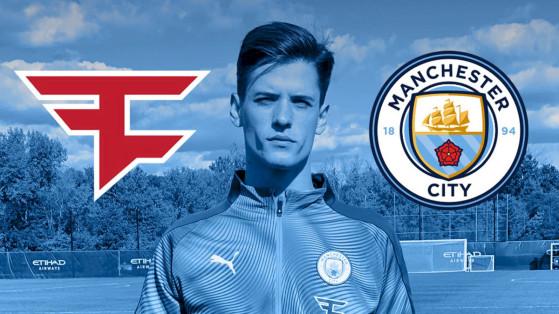 FIFA : Manchester City et Faze Clan s'associent