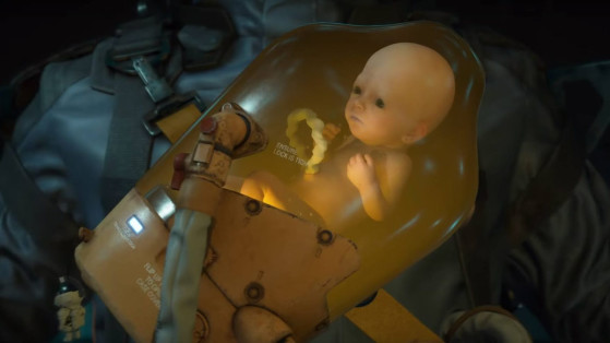Death Stranding : Bébé en bocal, Bridge baby, BB