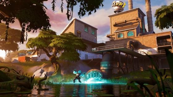 Fortnite : mission Soif de bleuvage, défis saison 1 Chapitre 2