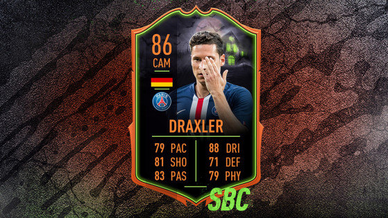 FUT 20 : DCE Draxler Scream, solutions du défi