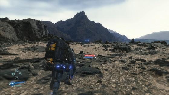 Guide Death Stranding, équipement : exosquelette renforcé, ingénieur
