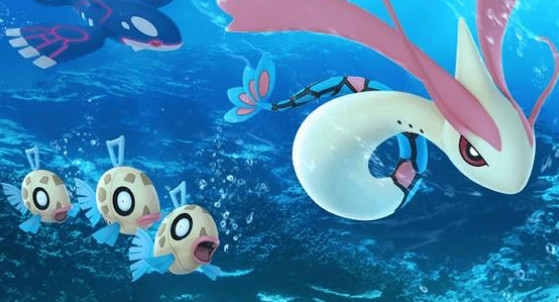 Pokemon Epee, Bouclier : où trouver Barpau et Milobellus