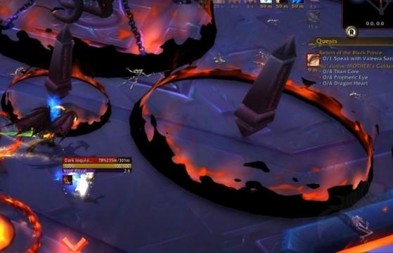 Les obélisques sont dangereux en Mode Héroïque, et pire en Mythique ! - World of Warcraft