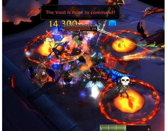 Trois joueurs doivent participer au Rituel du Vide de Xanesh - World of Warcraft