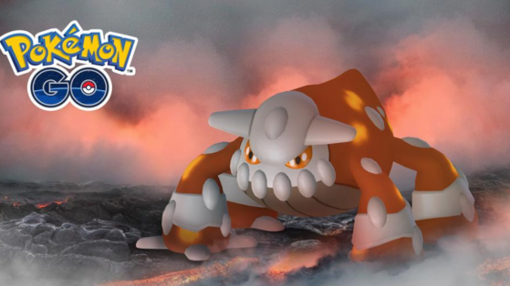 Pokemon GO : comment battre Heatran en raid, heatran shiny