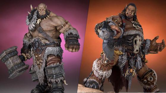 Ogrim et Durotan : découvrez deux statuettes de collection Warcraft à moindre coût