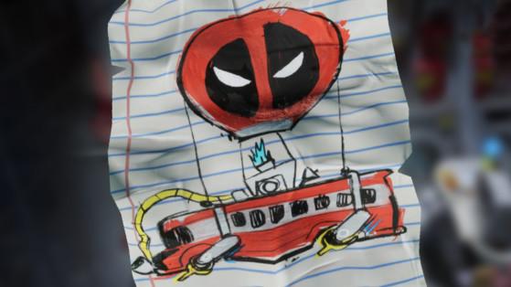 Fortnite : trouver la lettre de Deadpool pour Epic Games