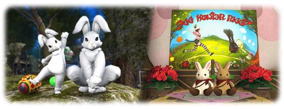 Récompenses sur le thème du lapin - Final Fantasy XIV
