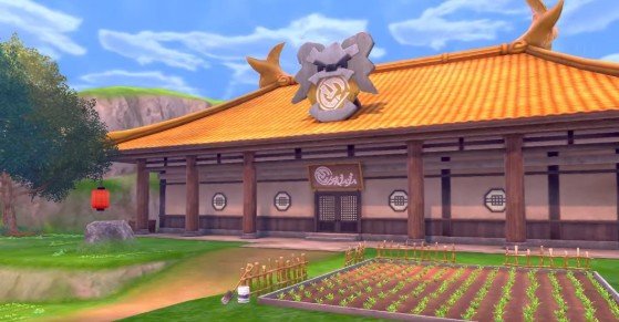 Le Dojo de l'île de l'armure solitaire - Pokémon Épée et Bouclier