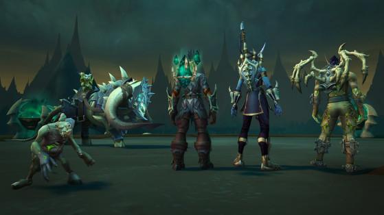 Mascotte, monture et accessoires de dos - World of Warcraft