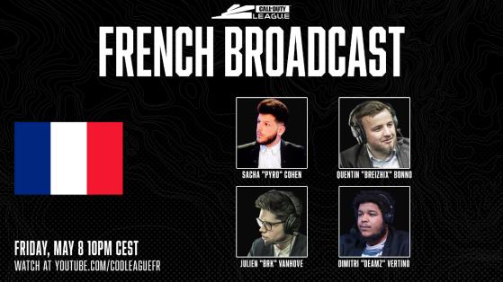 Call of Duty League : Entretien avec BRK, caster français de la CDL