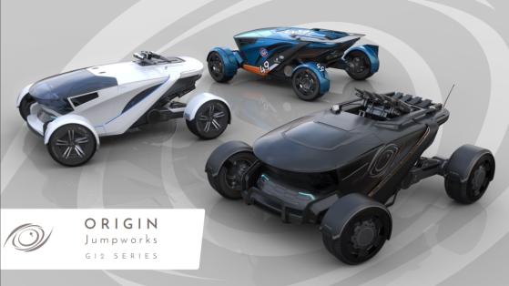 Star Citizen : Mise en vente de la série G12 du constructeur Origin