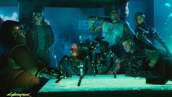 Robot Militech Flathead - Cyberpunk 2077