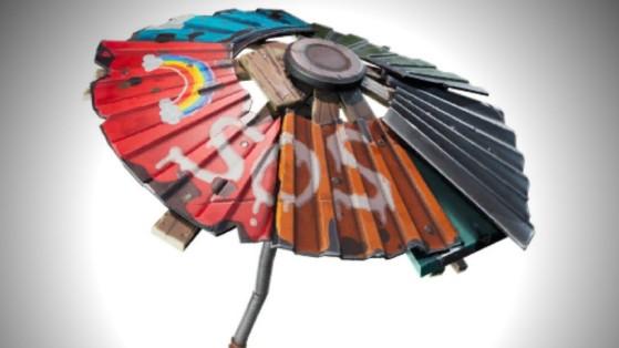 Fortnite : parapluie top 1, saison 3 chapitre 2