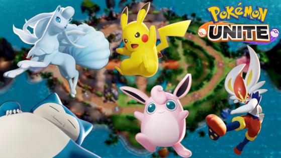 Pokemon Unite : liste des 23 personnages jouables