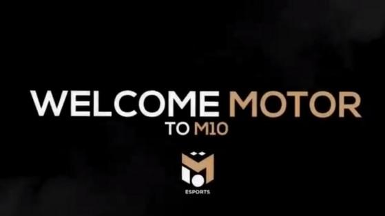 Fortnite : Motor signe chez M10 esports