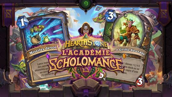 Hearthstone extension Académie de Scholomance : Double spécialisation, cartes double-classes