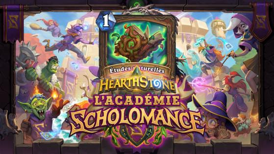 Hearthstone extension l'Académie de Scholomance : Etudes (Studies), nouveau type de carte