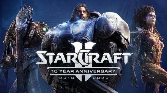 Starcraft II : anniversaire des 10 ans de la licence