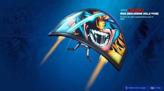 Style du planeur MCG (Wolverine vol.2, #145) - Fortnite : Battle royale