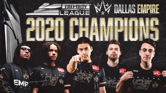 Call of Duty League Championship : programme, résultat, bracket et classement