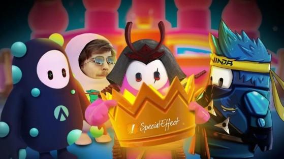 Fall Guys Battle of the Brands : Ninja, MrBeast, G2 et AimLab offrent 1 million de dollars