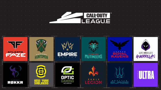 Call of Duty 2021 : la liste des équipes pour la saison 2 de la compétition