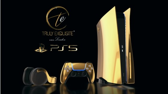 PS5 : une version Gold 24 carats mise en vente