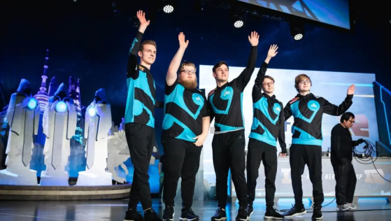 Cloud9 lors des Worlds 2019 - League of Legends