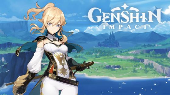 Genshin Impact : build Jean, armes et sets d'artefacts