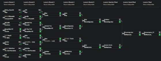 Looser bracket - VS Fighting