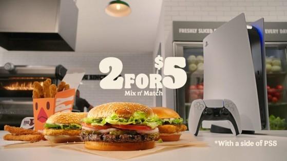 Burger King fait gagner 1000 PS5 et 2000 jeux (Demon's Souls, Sackboy)... Aux Etats-Unis seulement