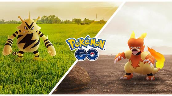 Deux Community Day en novembre sur Pokémon GO : Magmar et Elektek