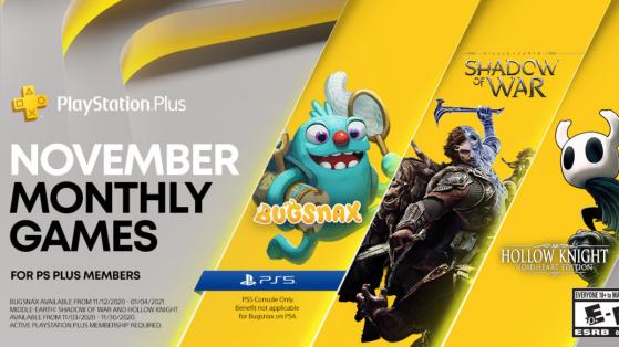 Le PS Plus de novembre se dévoile avec Bugsnax gratuit sur PS5