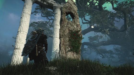Soluce AC Valhalla, Asgard : Autel à offrandes et pierres de larmes d'Ymir