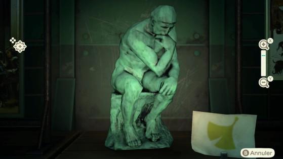 La statue pensive est toujours authentique - Animal Crossing New Horizons