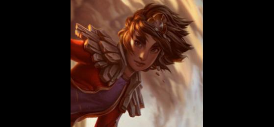 Taliyah sur League of Legends - Legends of Runeterra