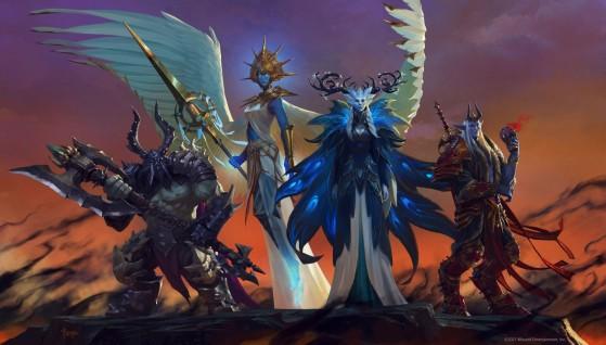 Les chefs de congrégations (artiste : Bayard Wu) - World of Warcraft
