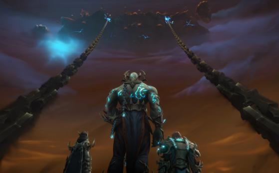 Korthia dans la cinématique d'introduction au patch 9.1 - World of Warcraft