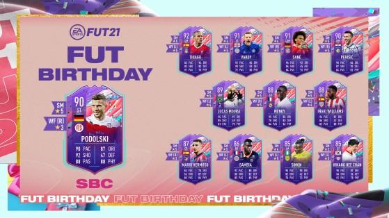 FUT 21 - Solution DCE - Podolski Birthday