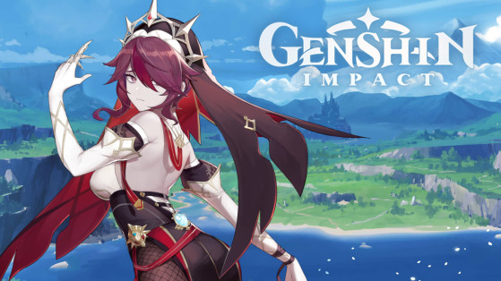 Genshin Impact : build Rosalia, armes et sets d'artefacts