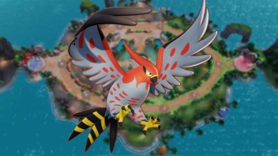 Flambusard (Talonflame) Pokémon Unite : build, attaques, objets et comment le jouer