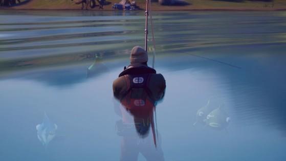 Fortnite FNCS : un trio se qualifie au round 2 en atterrissant dans l'océan et en pêchant